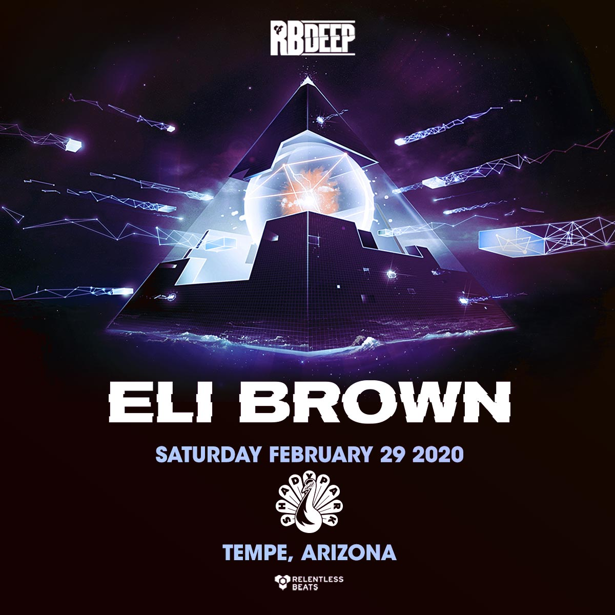 Flyer for Eli Brown