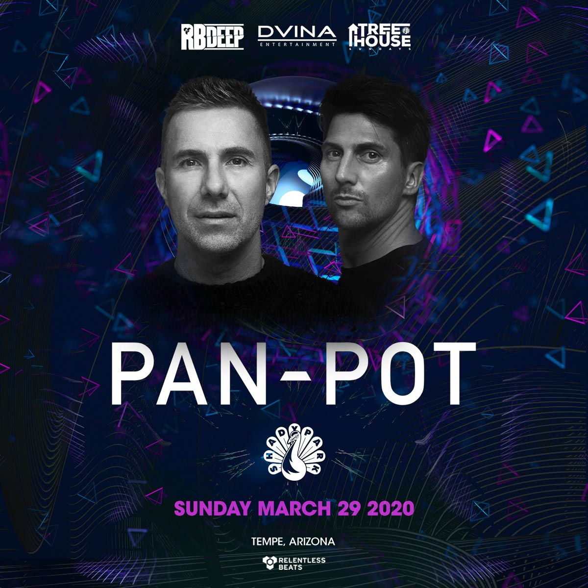 Flyer for Pan-Pot