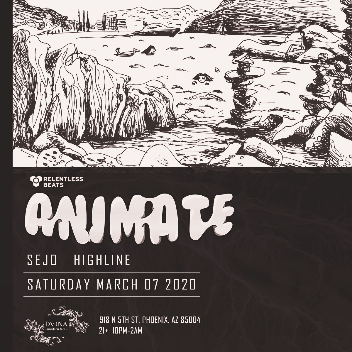 Flyer for Animate