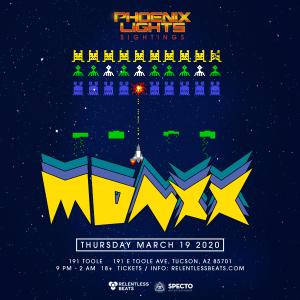 Postponed - Monxx - Phoenix Lights Sightings on 03/19/20