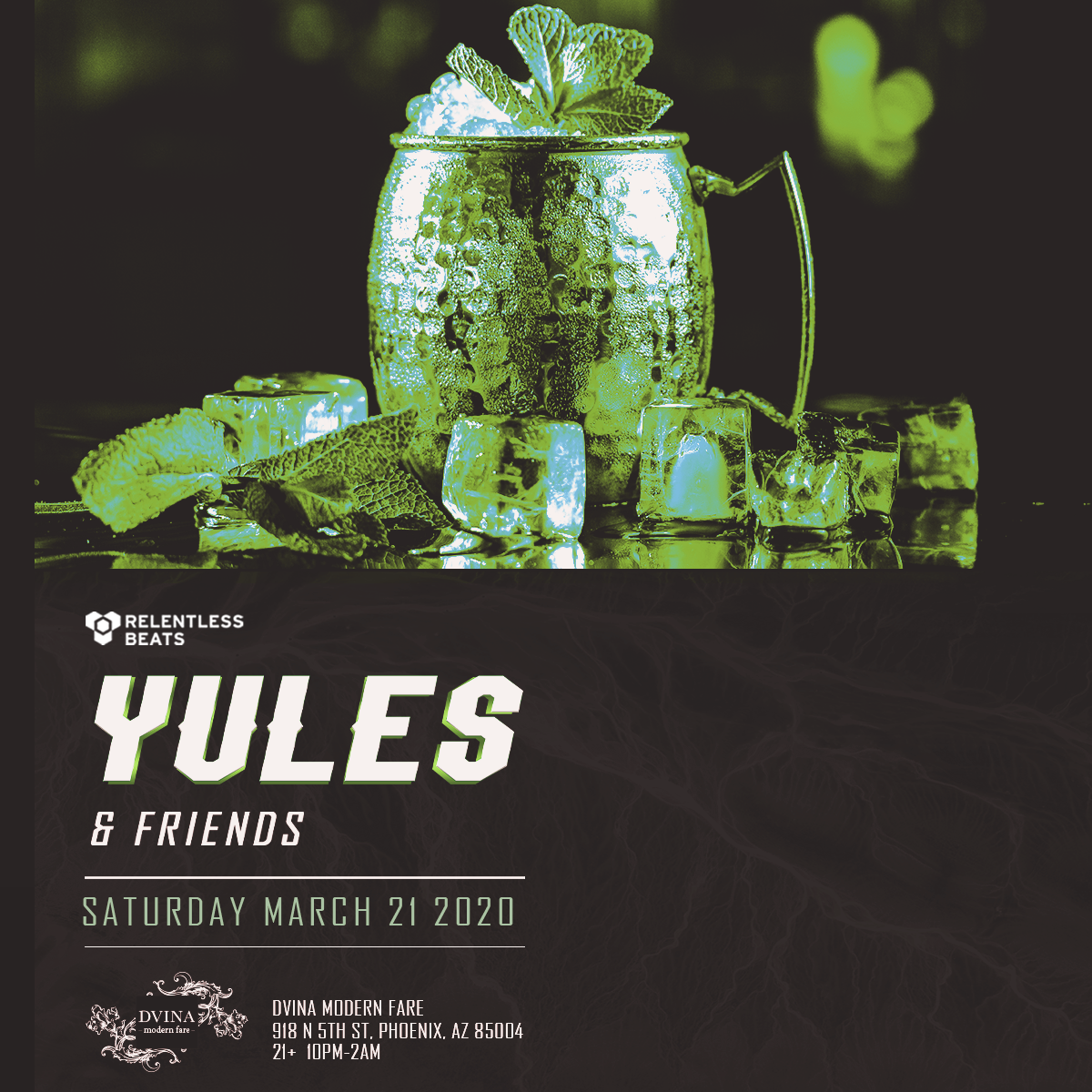 Flyer for Yules & Friends