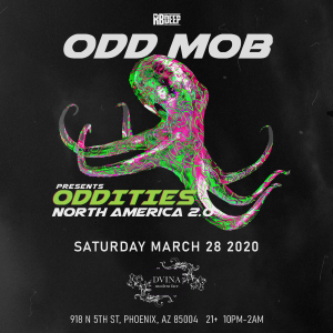 Postponed - Odd Mob on 03/28/20