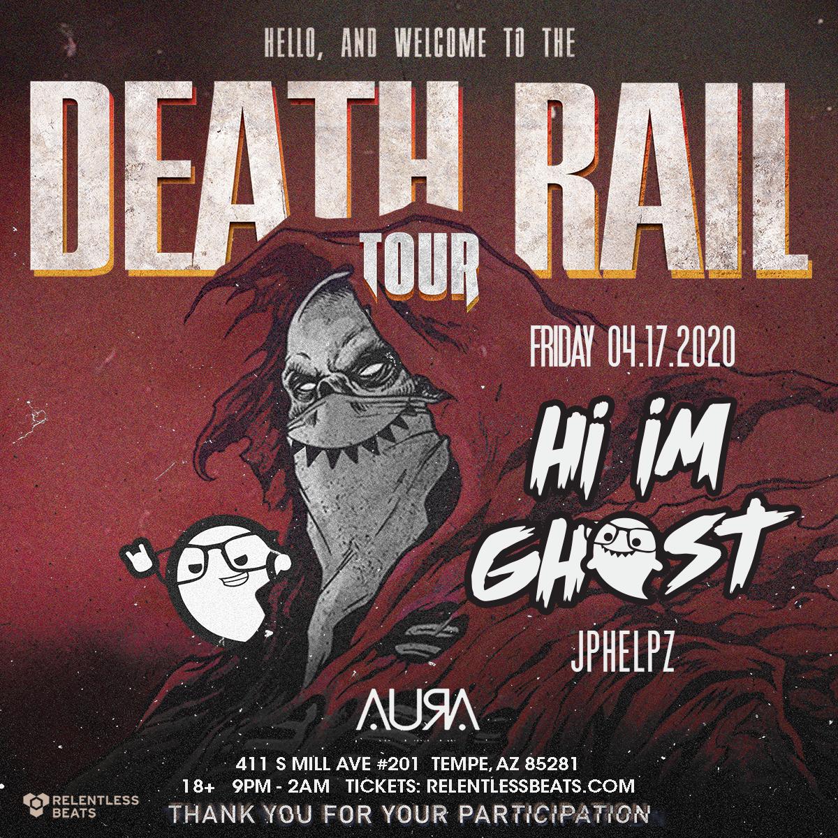 Flyer for Hi I'm Ghost
