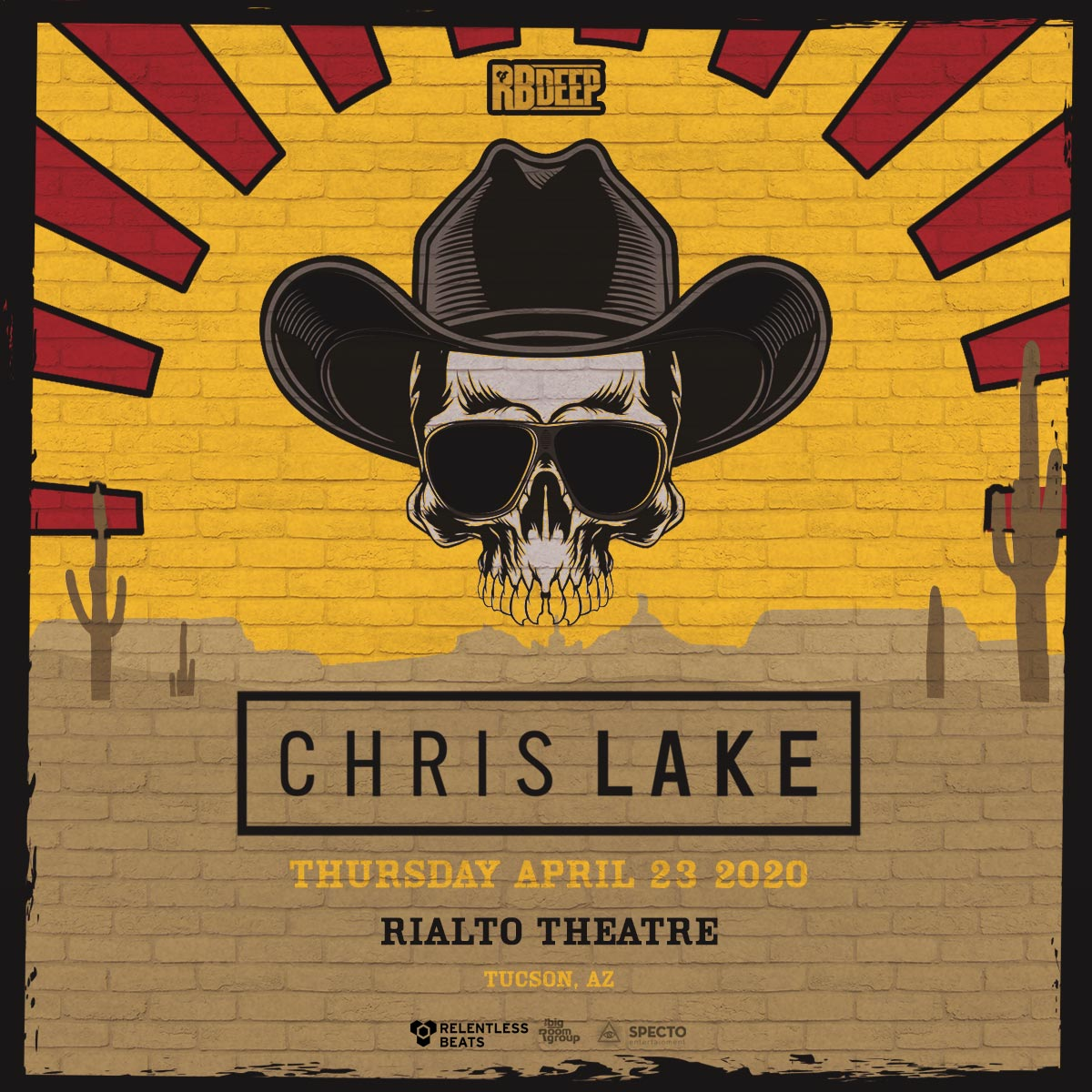 Flyer for Chris Lake