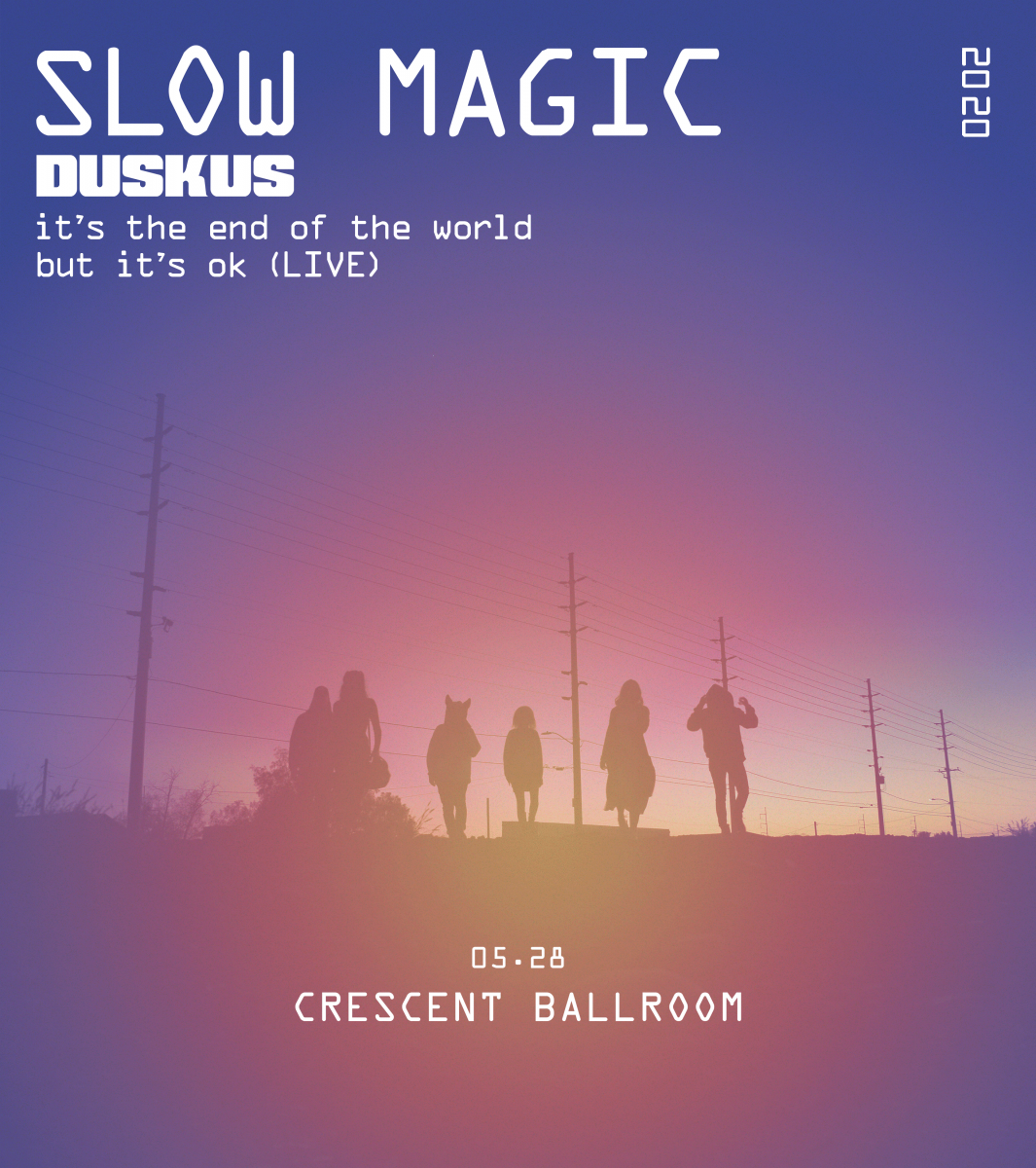 Flyer for Slow Magic