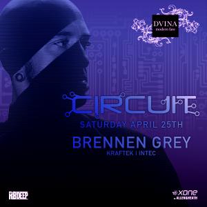 Postponed - Brennen Grey on 04/25/20