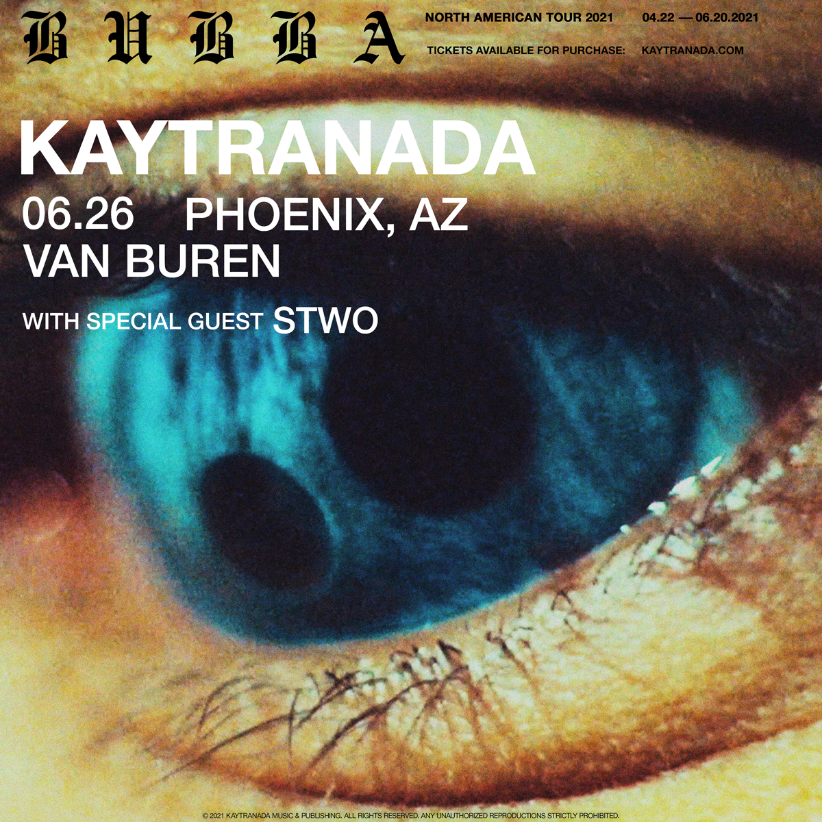 Flyer for New Date - Kaytranada