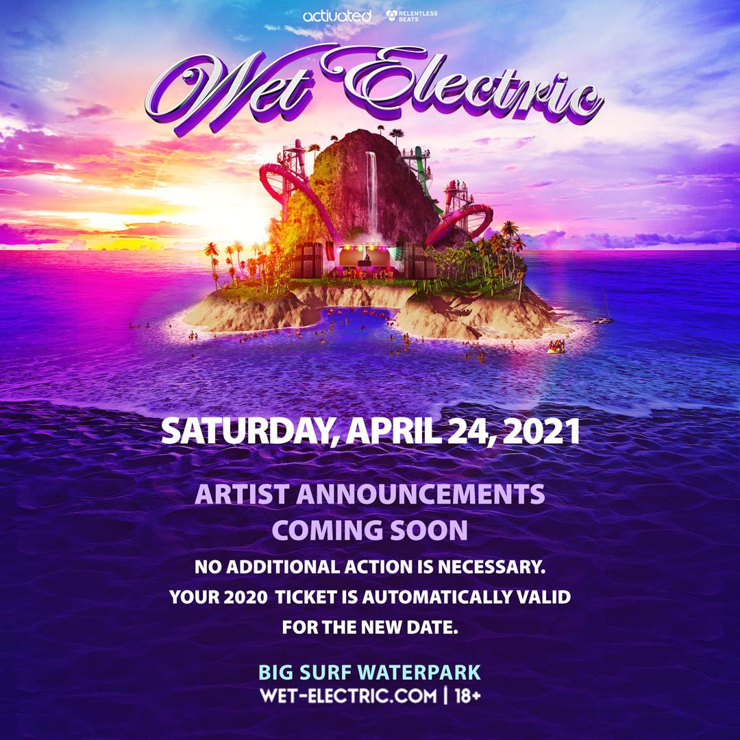 Flyer for Wet Electric 2021
