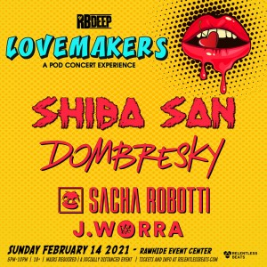 Shiba San - Lovemakers: A Pod Concert Experience on 02/14/21