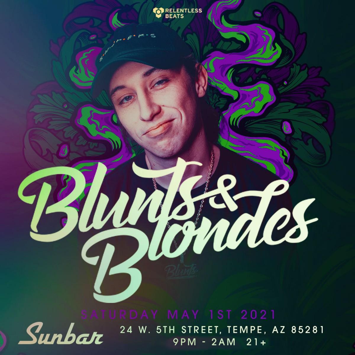 Flyer for Blunts & Blondes
