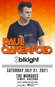 Paul Oakenfold on 07/31/21