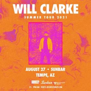 Will Clarke on 08/27/21
