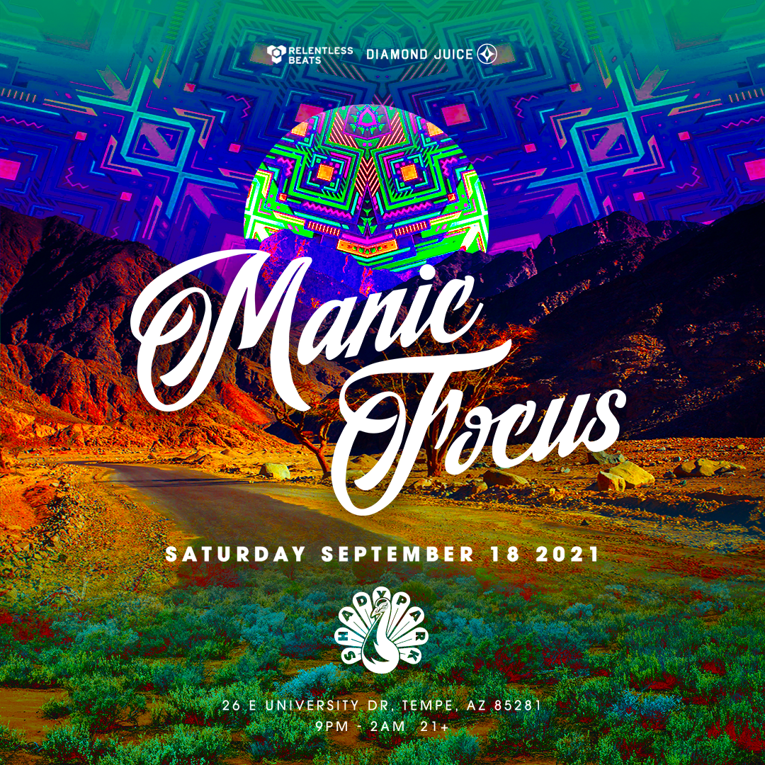 Flyer for Manic Focus