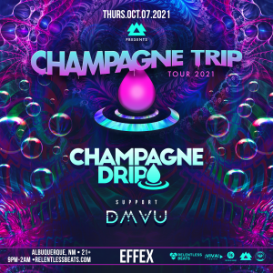 Champagne Drip on 10/07/21