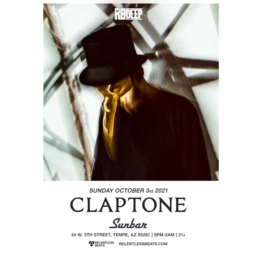 Flyer for Claptone