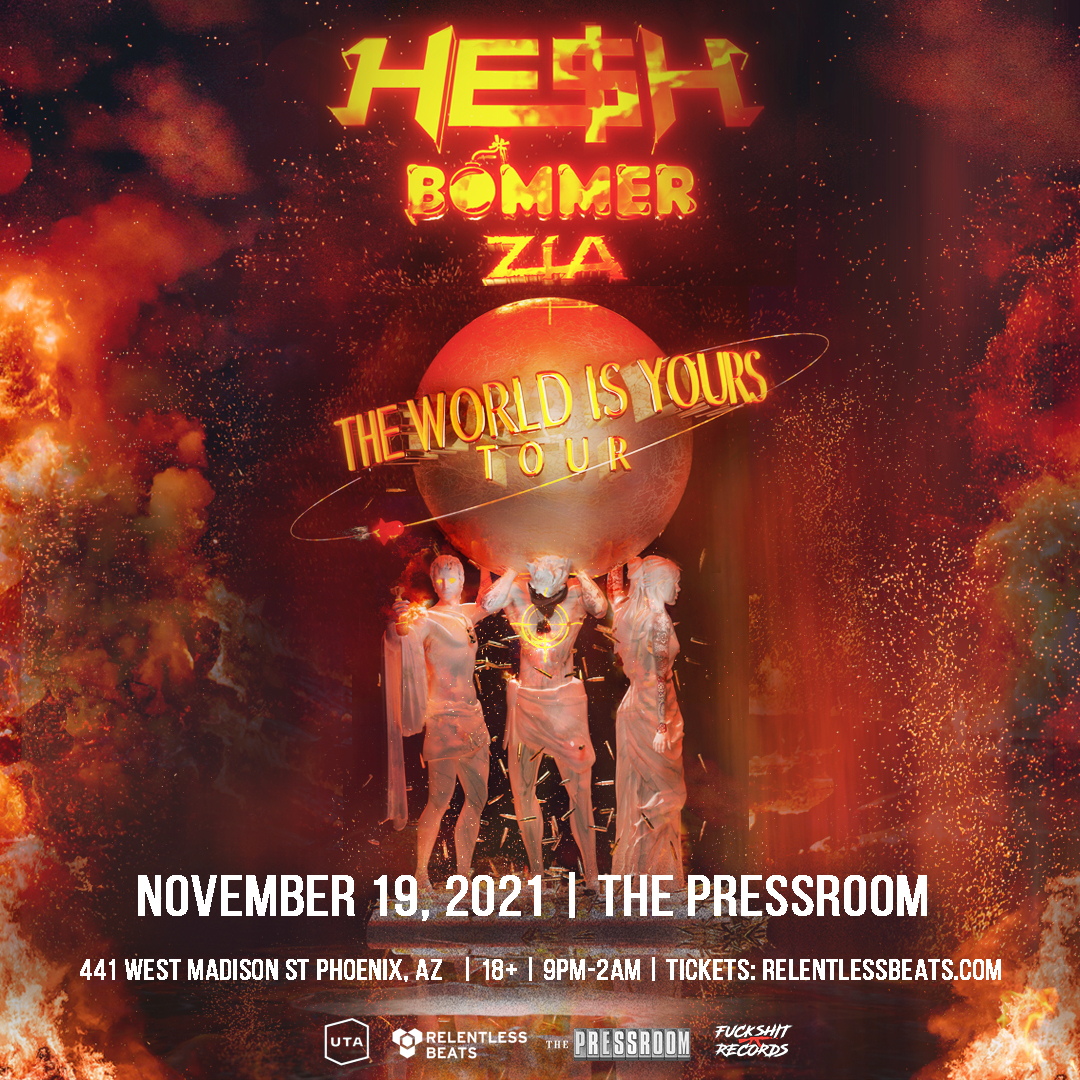 Flyer for HE$H