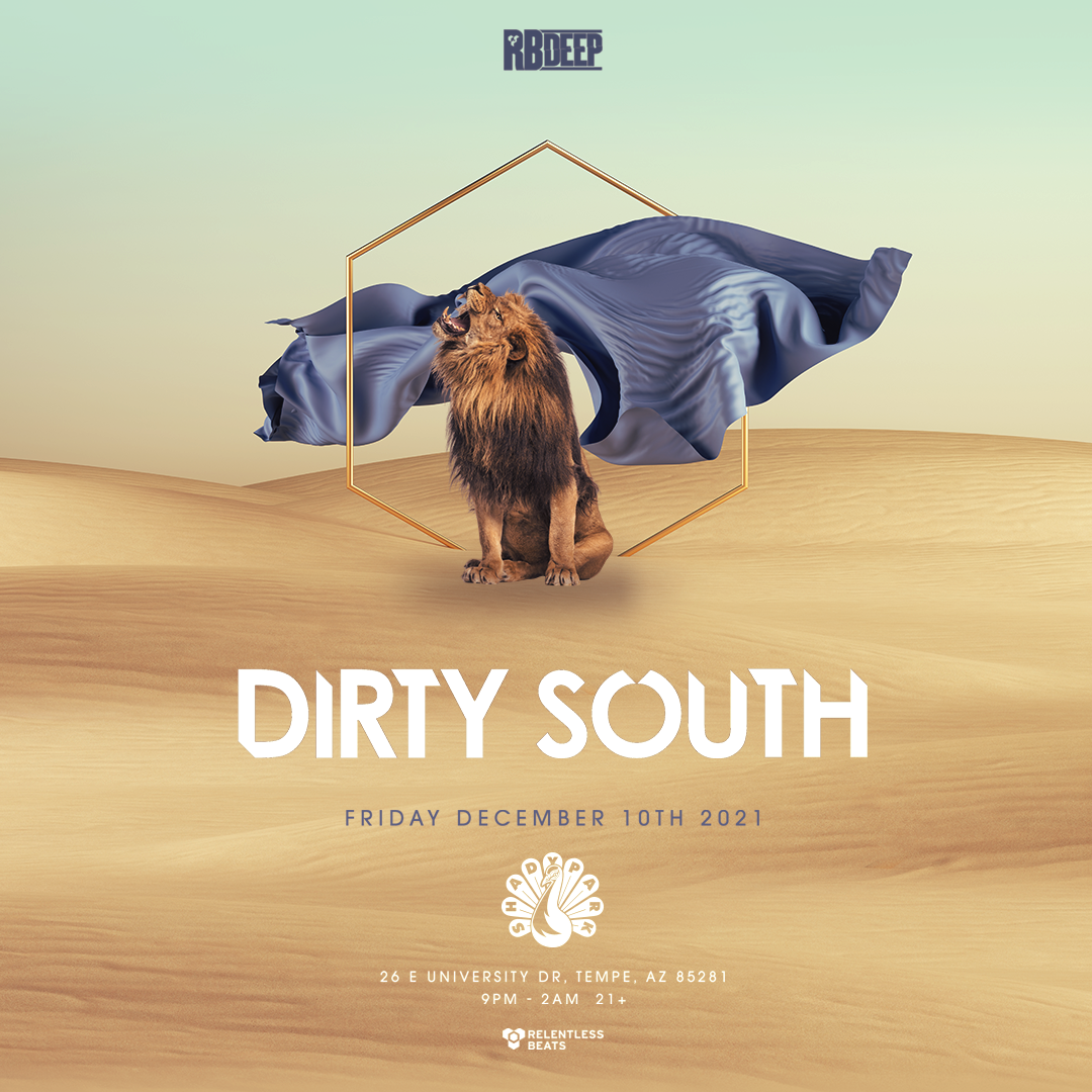 Flyer for Dirty South