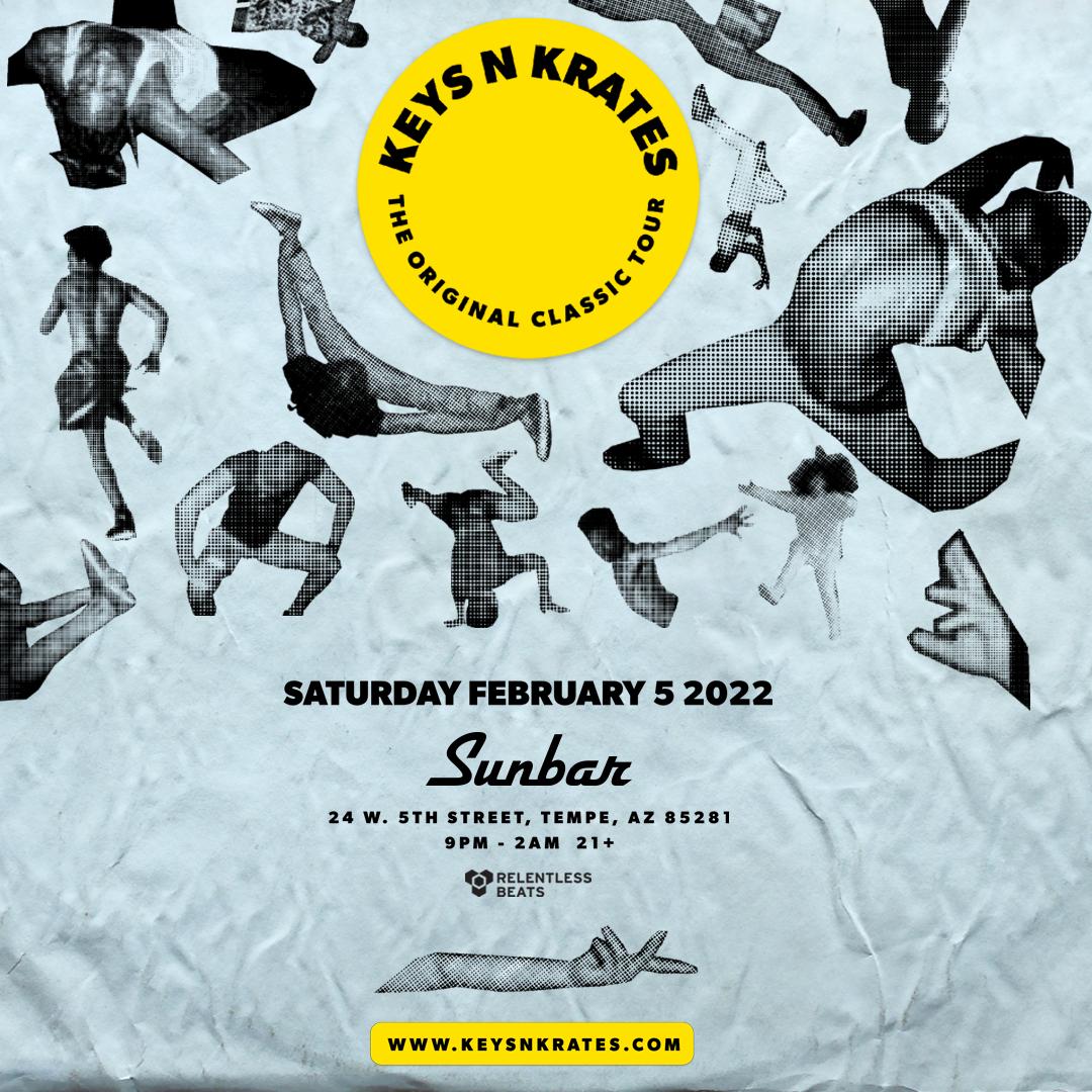 Flyer for Keys N Krates