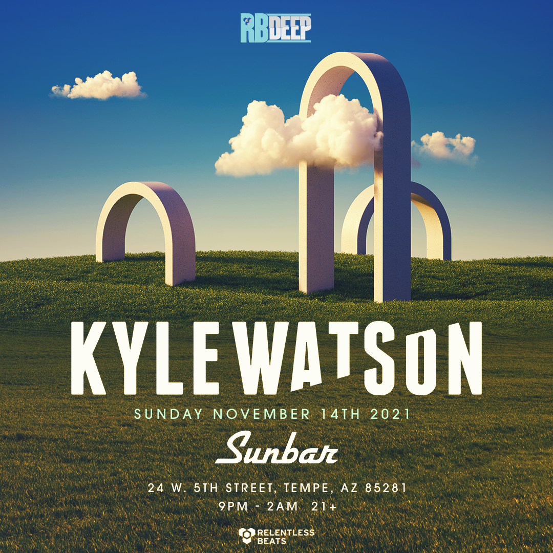 Flyer for Kyle Watson