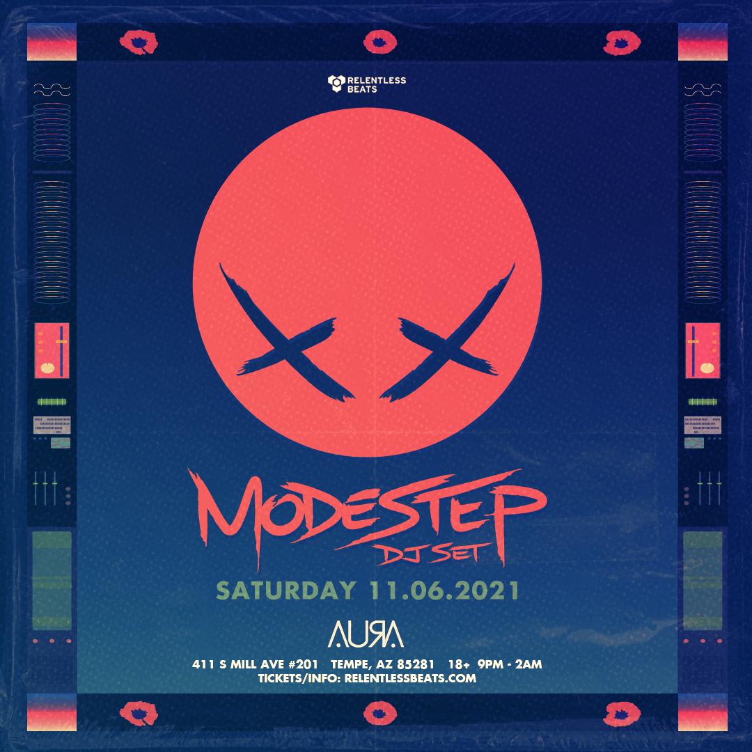 Flyer for Modestep