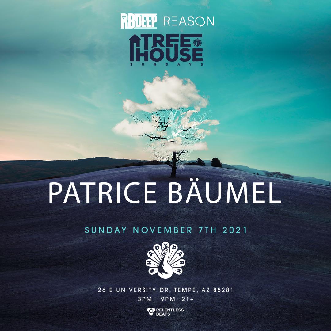 Flyer for Patrice Bäumel