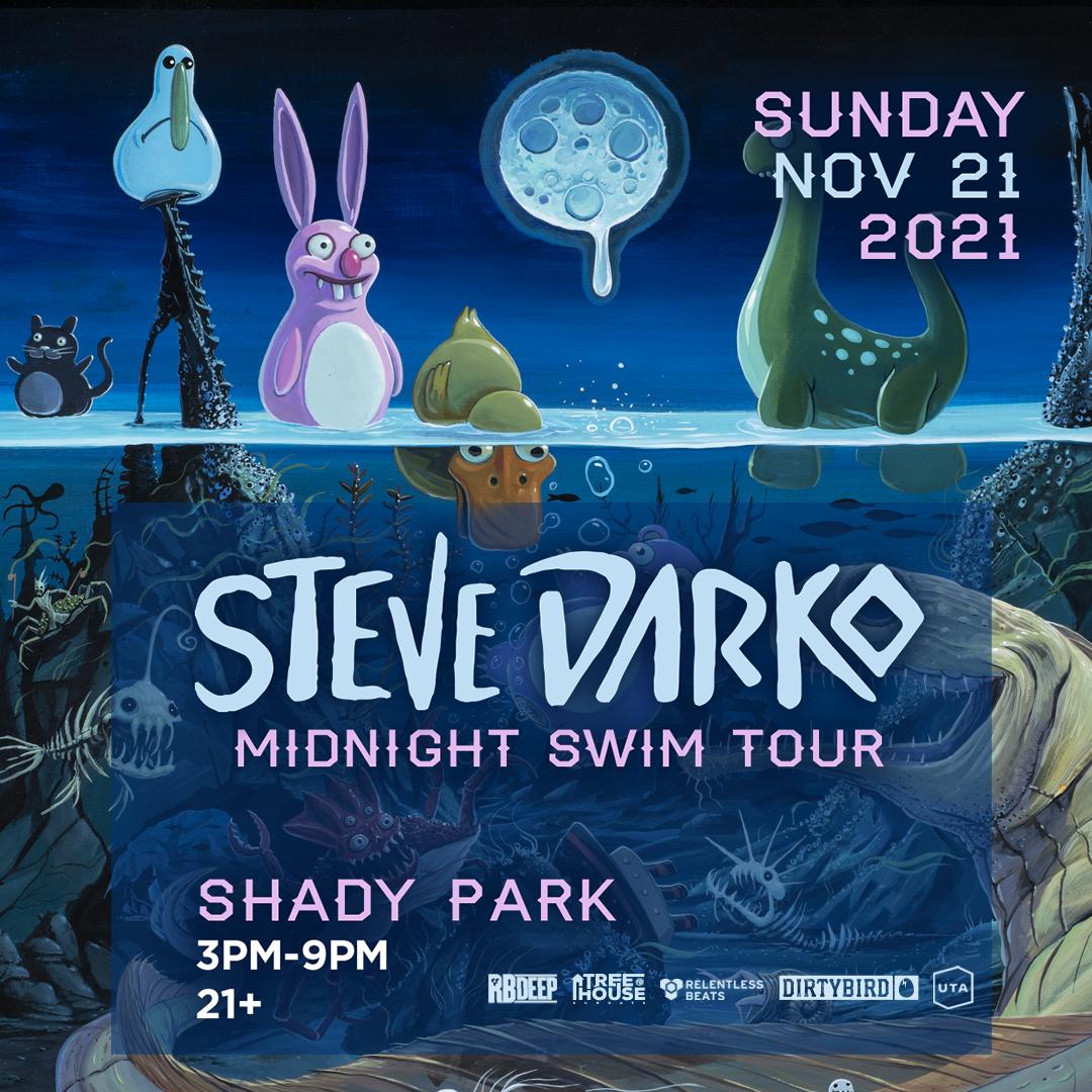 Flyer for Steve Darko   TreeHouse Sundays