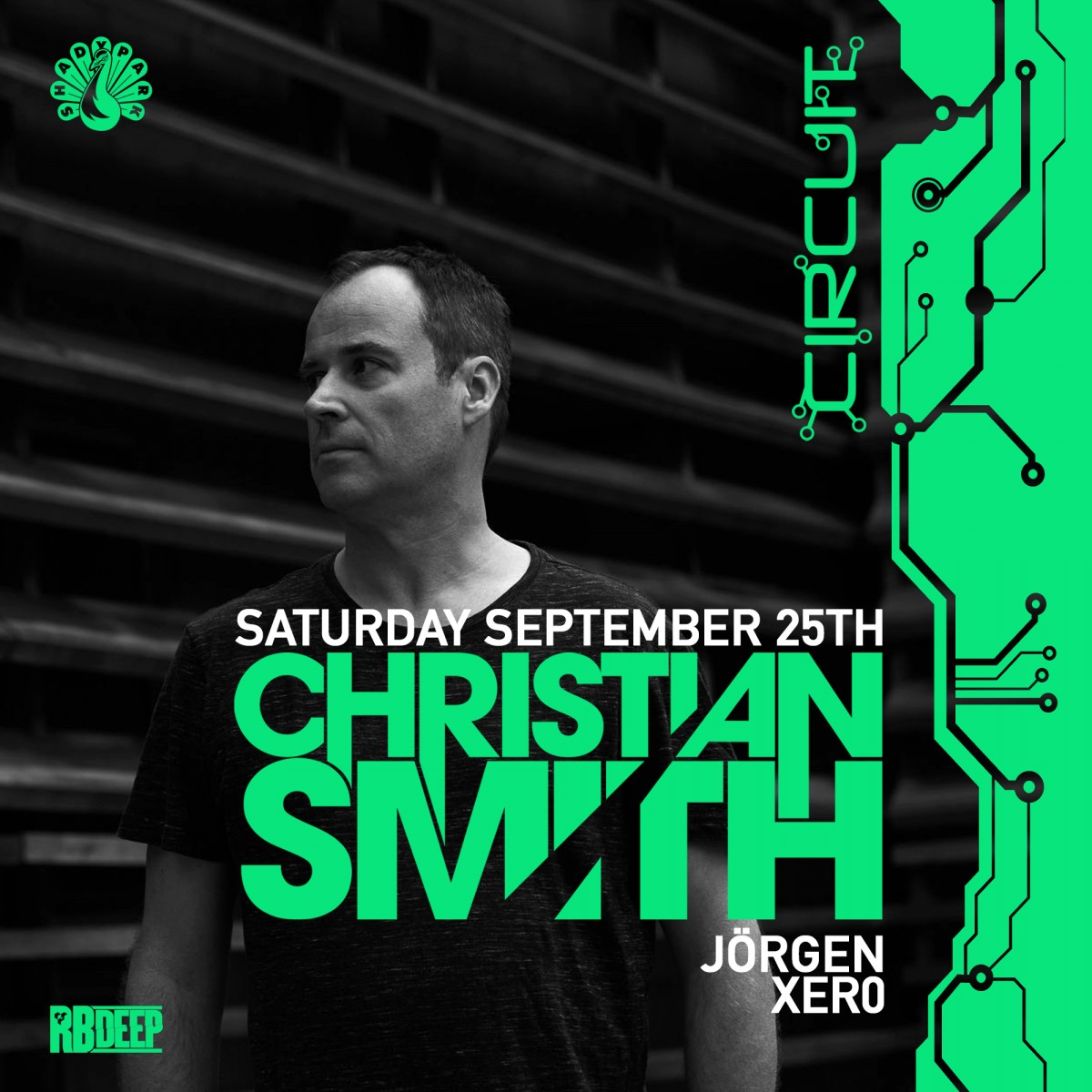 Flyer for Christian Smith