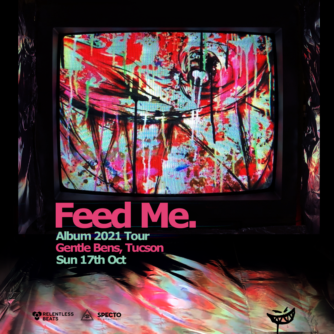 Flyer for Feed Me