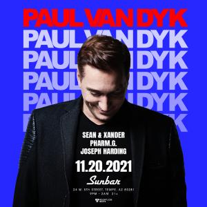 Paul Van Dyk - Odyssey on 11/20/21