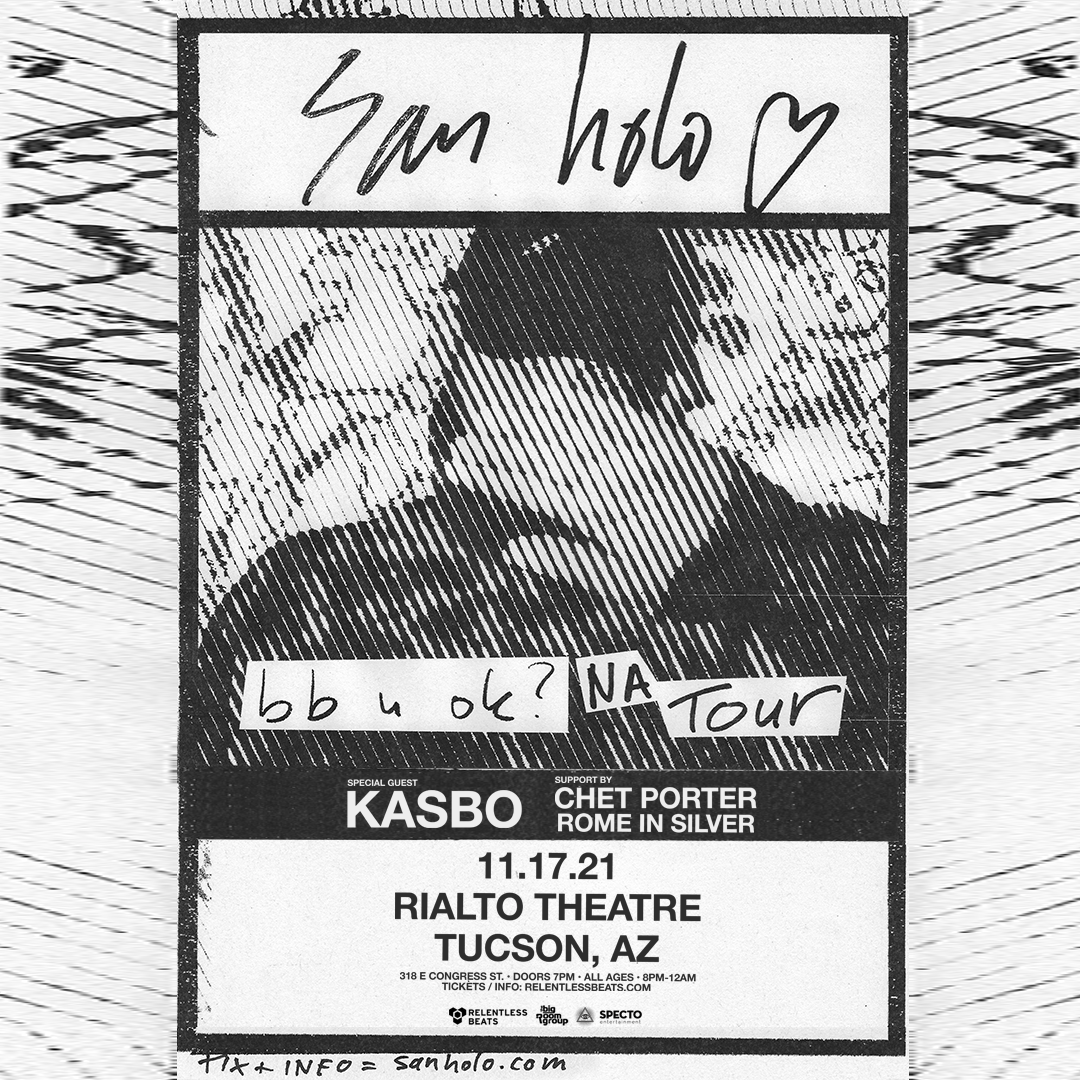 Flyer for San Holo