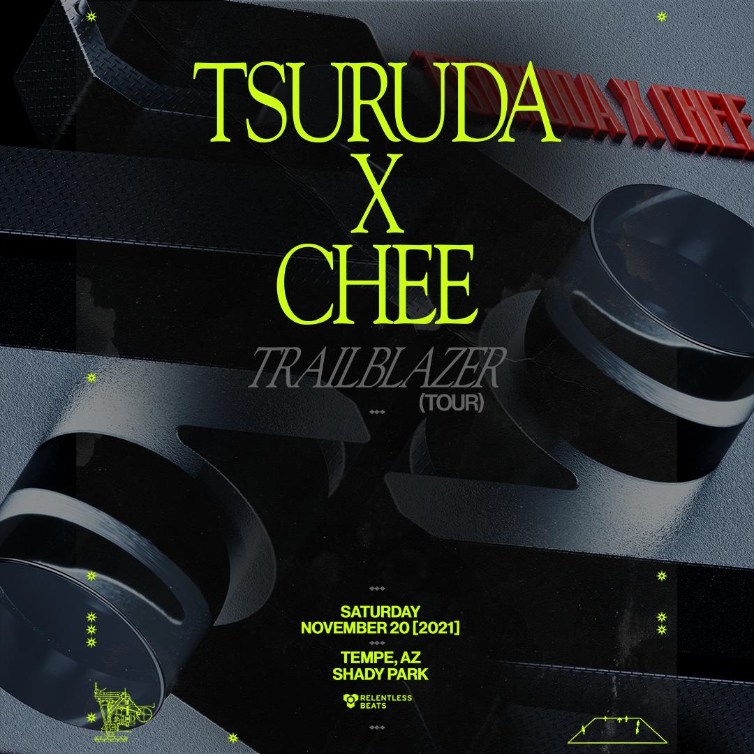 Flyer for Tsuruda + Chee