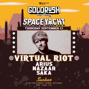 Virtual Riot, Arius & More   Space Yacht Goldrush Pre-Party on 09/23/21