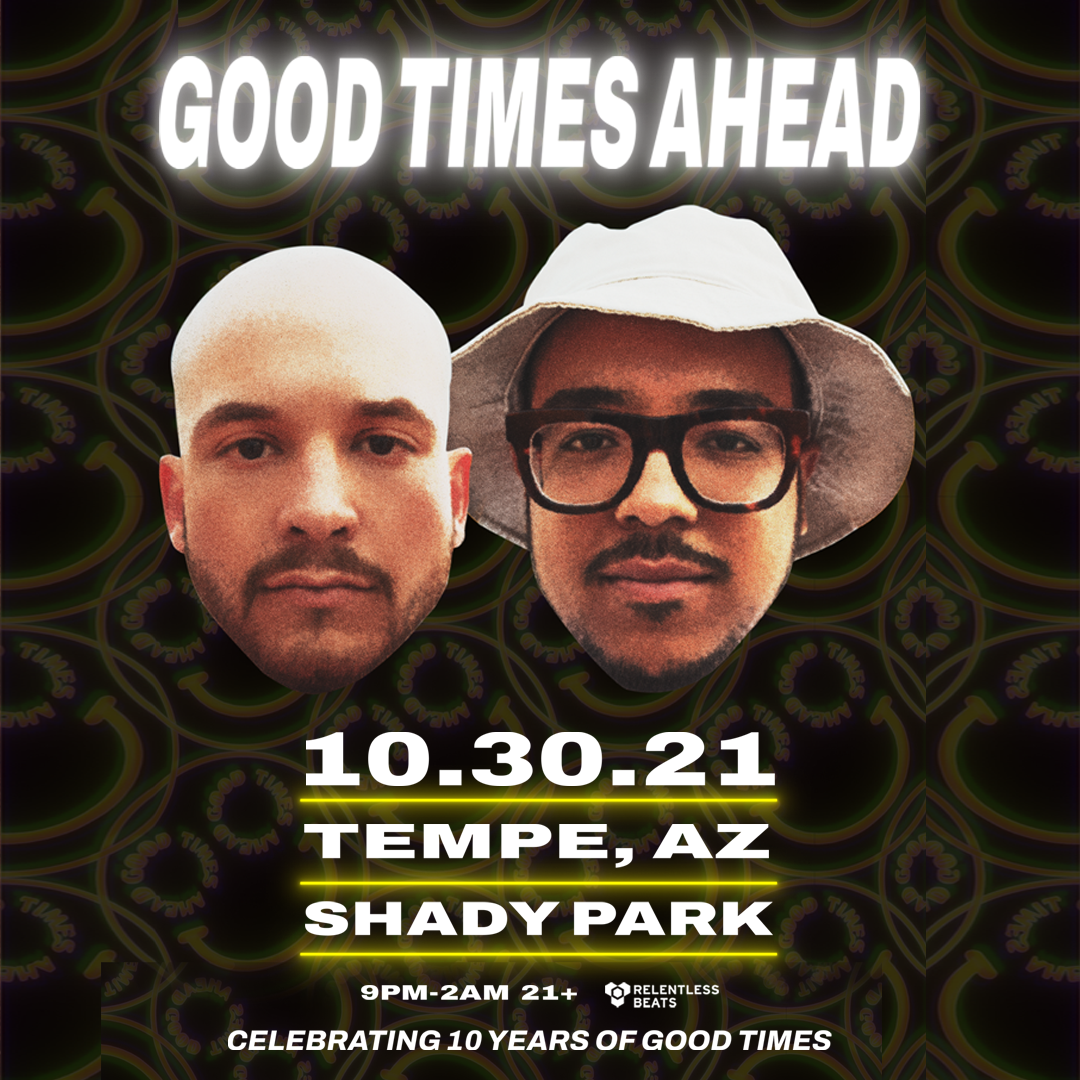 Flyer for Good Times Ahead
