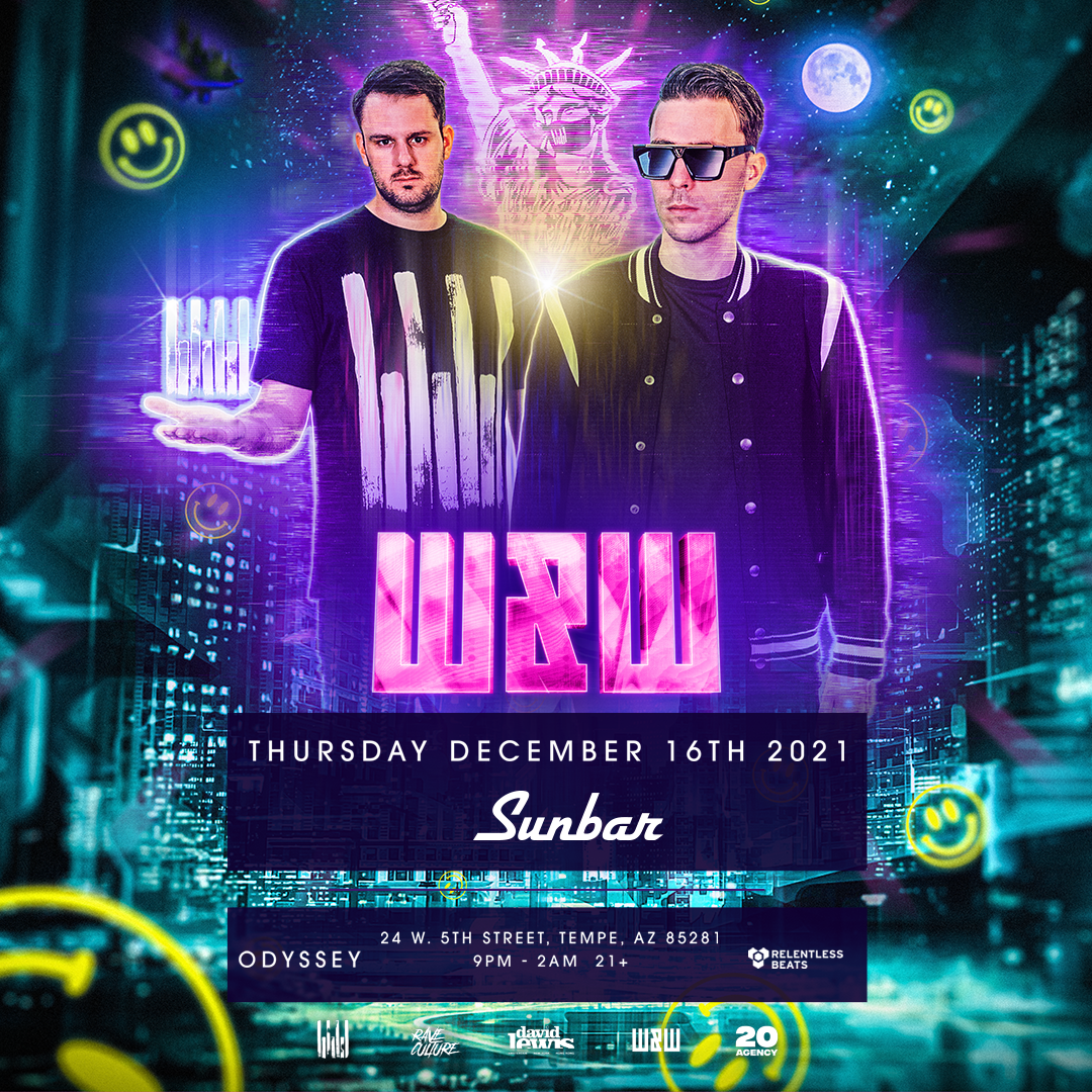 Flyer for W&W