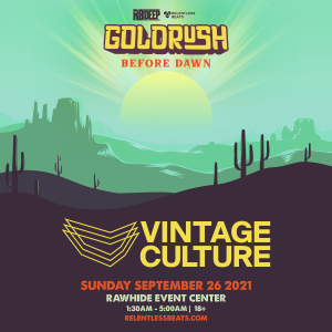 Vintage Culture | Goldrush Day 3 Afterparty on 09/27/21