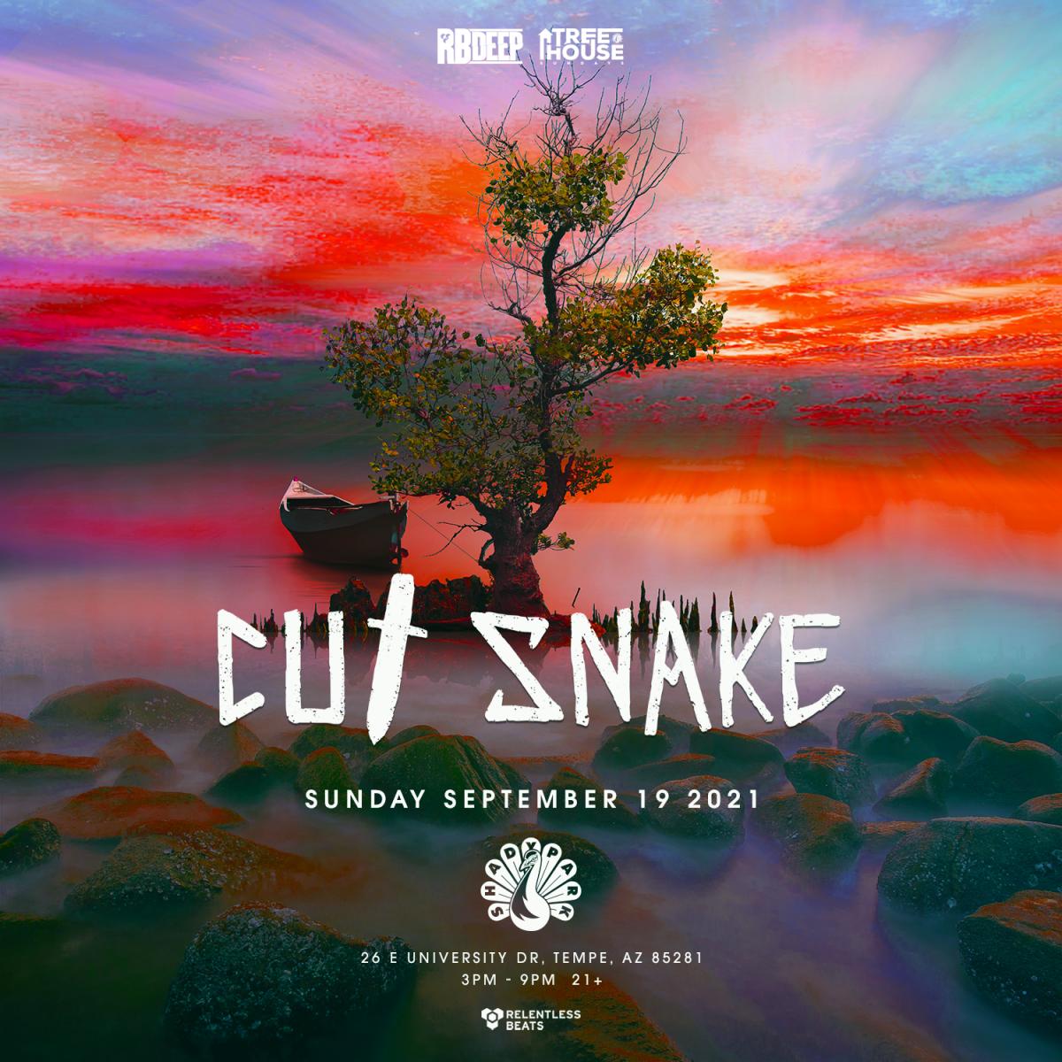 Flyer for Cut Snake | TreeHouse Sundays