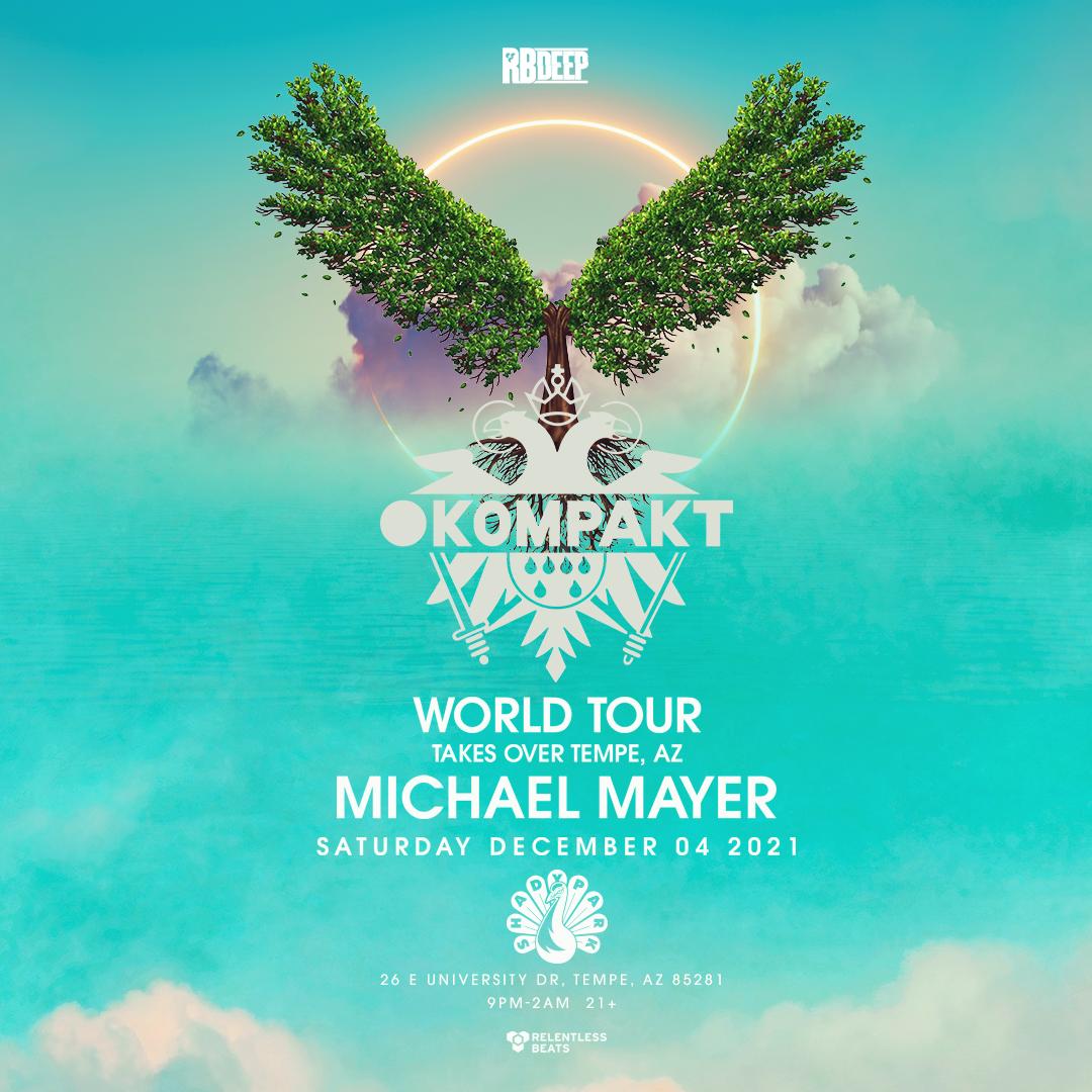 Flyer for Kompakt World Tour - Michael Mayer