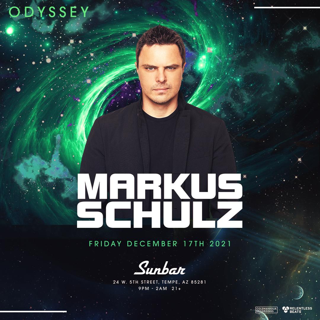 Flyer for Markus Schulz
