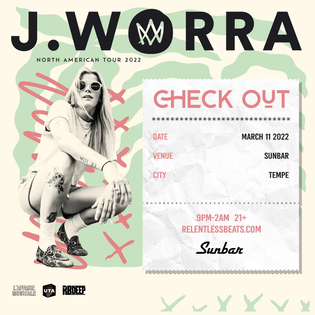 Flyer for J. Worra